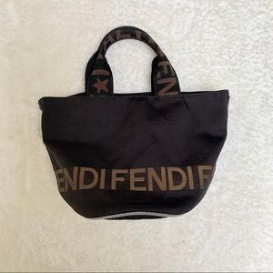 Authentic FENDI mini bucket tote !